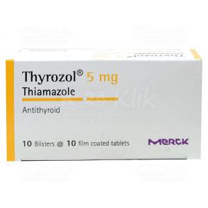 THYROZOL 5MG TAB