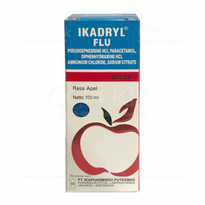 IKADRYL FLU SYR 100ML