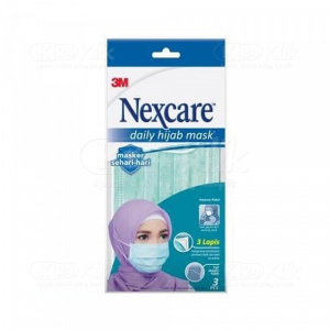 NEXCARE MASKER DAILY HIJAB 3S