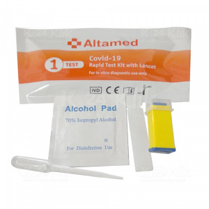 ALTAMED COVID19 RAPID TEST 25S