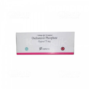 OSELTAMIVIR IF 75MG CAP 100S
