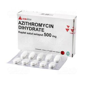 AZITHROMYCIN DEXA 500MG FC CAPL 30S
