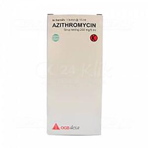 AZITHROMYCIN DEXA 200MG/5ML DRY SYR 15ML