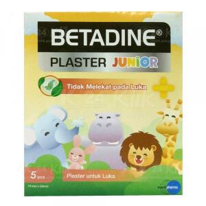 BETADINE PLASTER JUNIOR 5S AMPLOP 50S