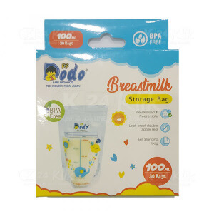 DODO BREASTMILK STORAGE BAG 100ML 30S