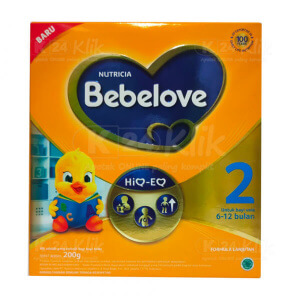 BEBELOVE 2 6-12BLN 200G BOX