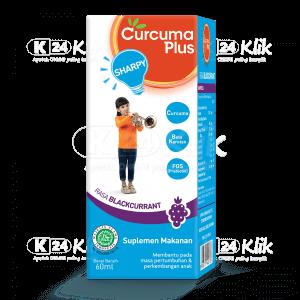 CURCUMA PLUS SHARPY BLACKCURRANT 60ML