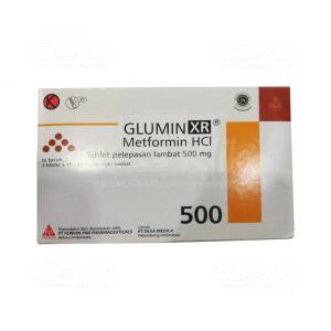 GLUMIN XR 500MG TAB